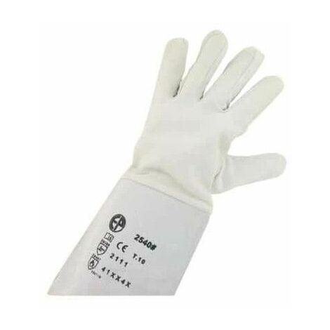 argón con guantes de protección como cualquier tamaño de la flor de cordero XL / 10 EP 2540 - Blanc