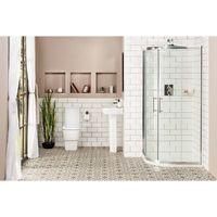 Aria 900mm Quadrant Shower Enclosure Suite with Easy Clean Glass