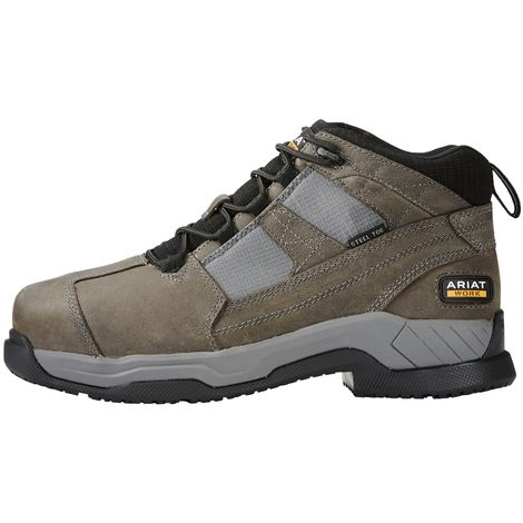 Ariat Mens Suede Contender Steel Toe Safety Boot