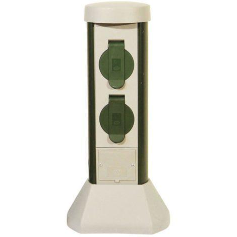 aric 3562 | aric 3562 - green - borne extérieure pc + t