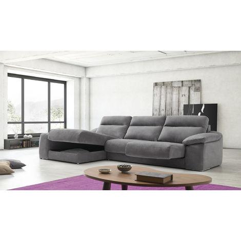 Ariel Reclining Italian Fabric Corner Group Sofa