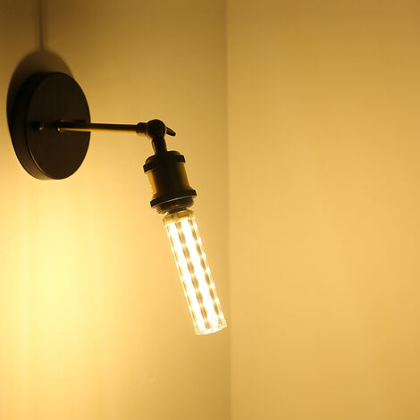 "main image of ""ARILUX E27 E14 B22 Bombillas LED 15 W 5730SMD Sin LED Strobe Bombillas de maíz Lámpara súper brillante T10 Bombilla tubular de repuesto AC85-265V (Blanco cálido, 3500K E14)"""