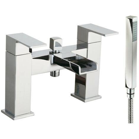 Arizona Chrome Bath Shower Mixer & Shower Kit