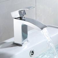 ARKE WATERFALL BASIN MONO MIXER TAP + WASTE