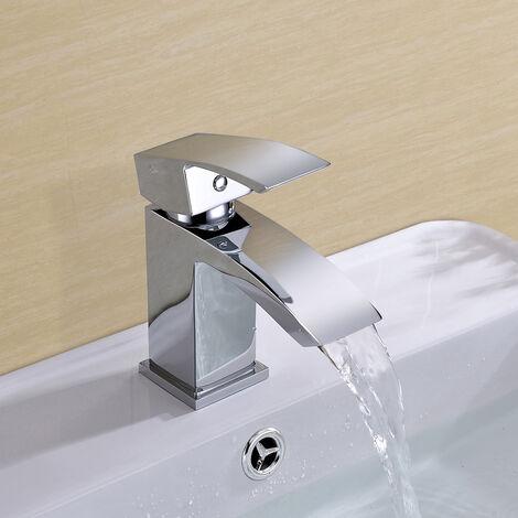ARKE WATERFALL CLOAKROOM BASIN MONO MIXER TAP