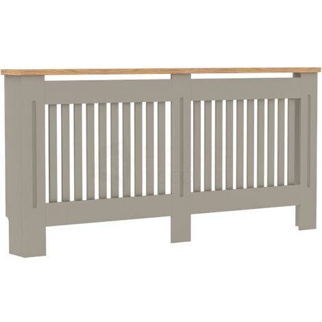Arlington Radiator Cover, Grey, Extra Large