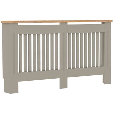 Arlington Radiator Cover, Grey, Large