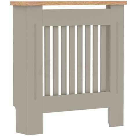 Arlington Radiator Cover, Grey, Small
