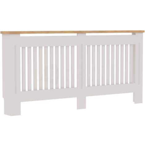 Arlington Radiator Cover, White, Extra Large