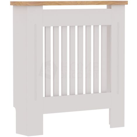 Arlington Radiator Cover, White, Small