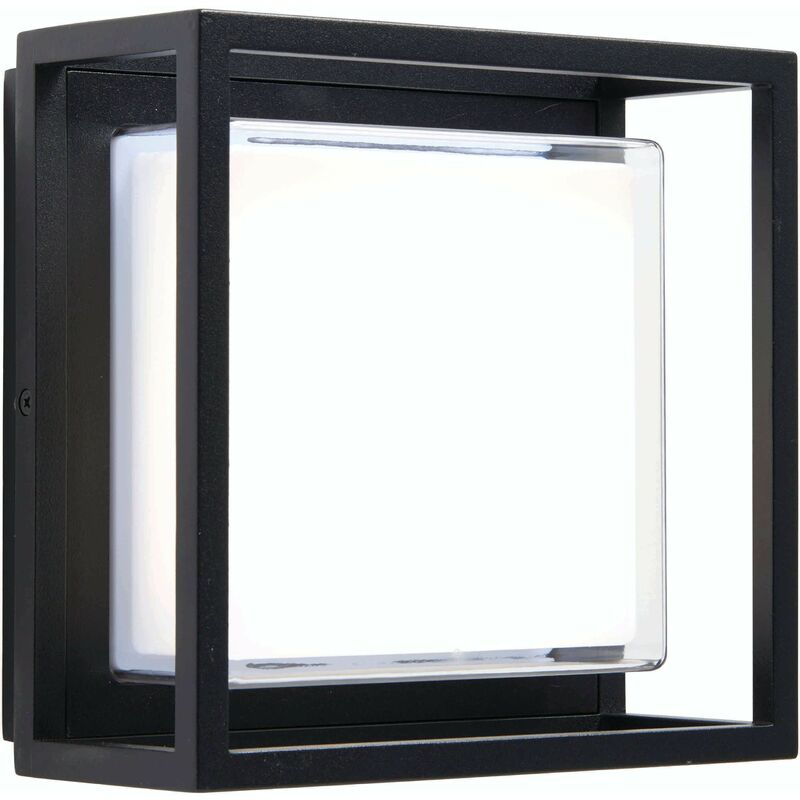Image of Arlow outdoor wall light Aluminum alloy and polycarbonate