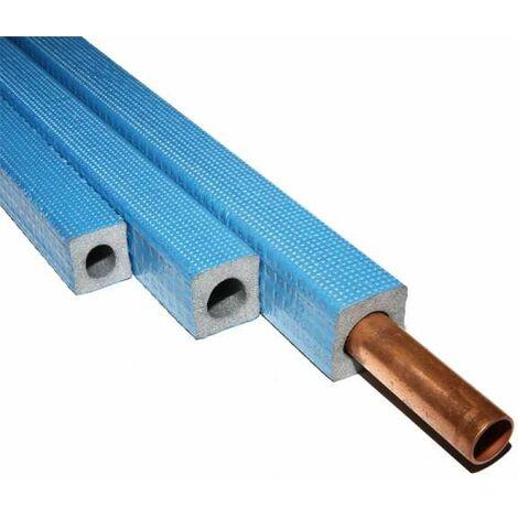Armacell Tubolit DHS Quadra 18/9 für 18mm Rohr 1m Rohrisolierung Isolierung blau 18x9 mm viereckig