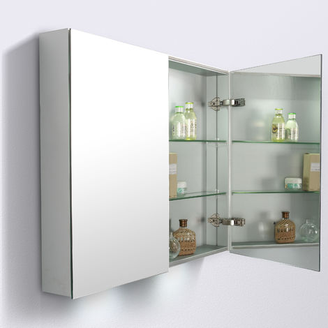 Specchio Armadio 2 Ante Economico.Armadietto A Specchio G900 2 Ante 90 X 70 3 X 12 5cm