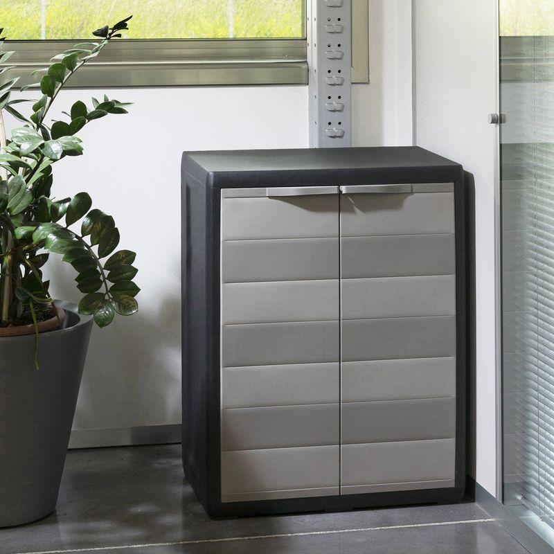 armadietto armadio box in resina basso per esterno balcone
