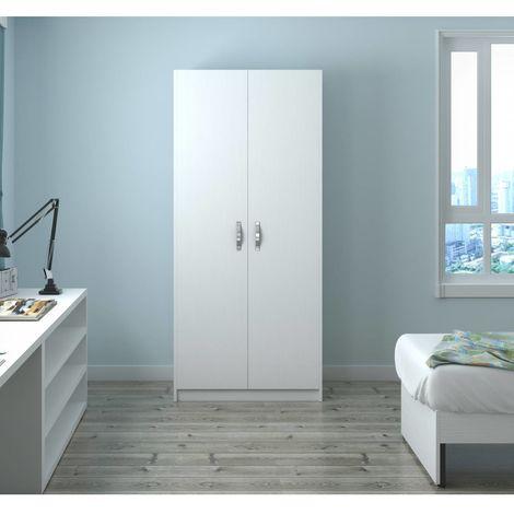210 in Armadio Bianco con frassinato due legno cm anteBianco eH92IWDEY