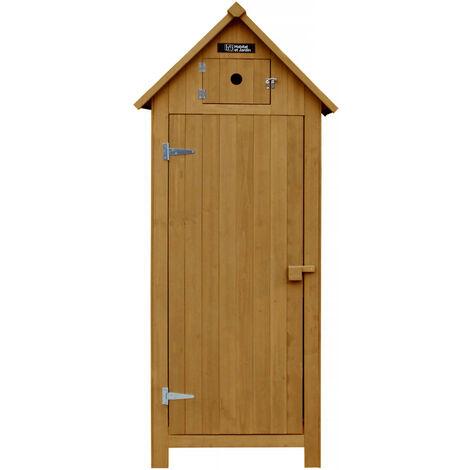 Ripostiglio in legno massello 132 x 68 cm miglior prezzo