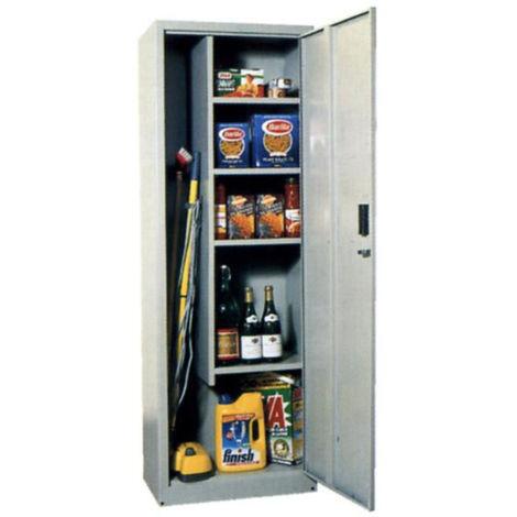 Armadio portascope metallo una porta misura 40x40x176 con ...