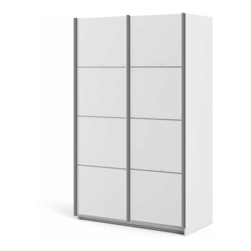 """armadio """"verona"""" con ante scorrevoli colore bianco - 122 ..."""