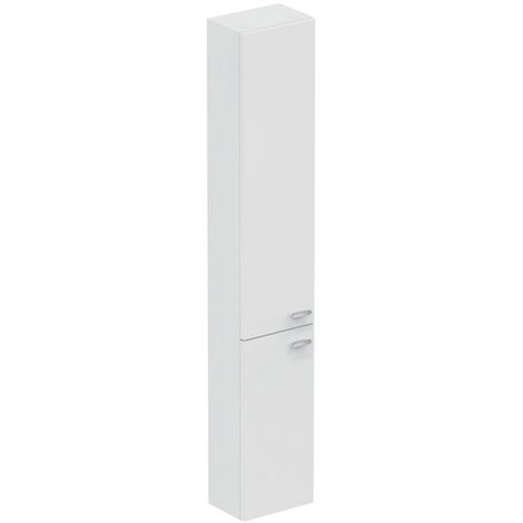 Armario alto, 300mm, 2 puertas, E0379, color: Lacado blanco brillo intenso - E0379WG