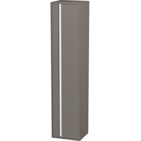 Armario alto Duravit Ketho 400x1800mm, 1255, 1 puerta de madera, bisagra derecha, Color (frente/cuerpo): Nogal natural decorado - KT1255R7979