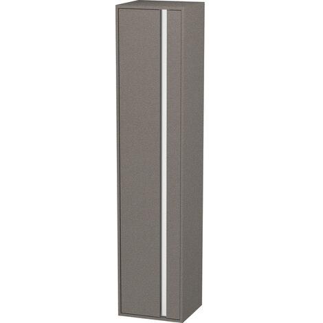 Armario alto Duravit Ketho 400x1800mm, 1255, 1 puerta de madera, bisagra izquierda, Color (frente/cuerpo): Nogal natural decorado - KT1255L7979