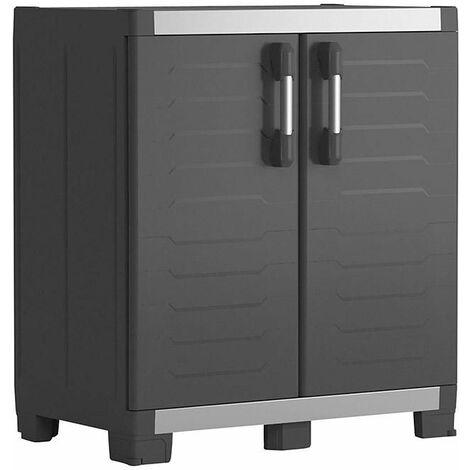 Armario alto XL PVC negro Garaje Keter
