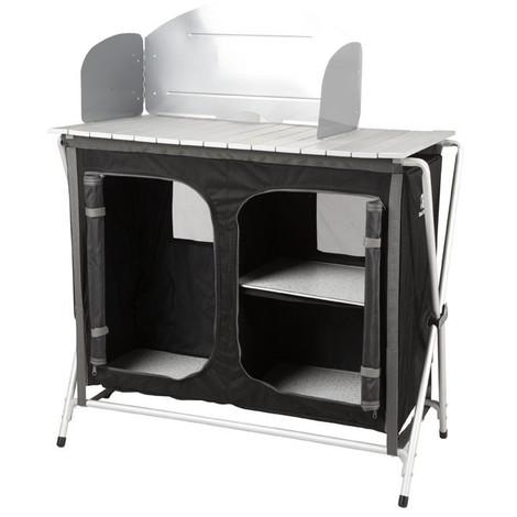 Armario Aluminio Barbacoa 88X52X88Cm - - Cabinet Bbq