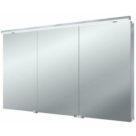 Armario con espejo de luz LED plana Emco asis, 1200mm, cumplimiento: con iluminación del lavabo - 979705266