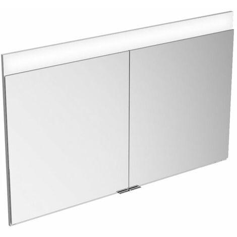 Armario con espejo Keuco Edition 400 21512, montaje en pared, 1 color de luz, 1060x650x154mm - 21512171301