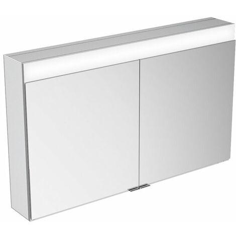 Armario con espejo Keuco Edition 400 21532, montaje en pared, 1 color de luz, 1060x650x167mm - 21532171301
