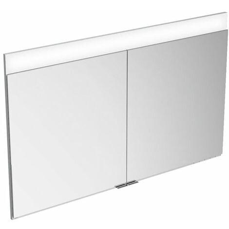 Armario con espejos Keuco Edition 400 21542 con calefacción de espejos, montaje en pared, 1060x650x154 mm - 21542171301