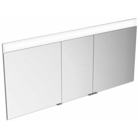 Armario con espejos Keuco Edition 400 21543 con calefacción de espejos, montado en la pared, 1410x650x154mm - 21543171301