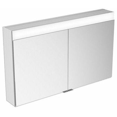 Armario con espejos Keuco Edition 400 21552 con calefacción de espejos, montaje en pared, 1060x650x154 mm - 21552171301
