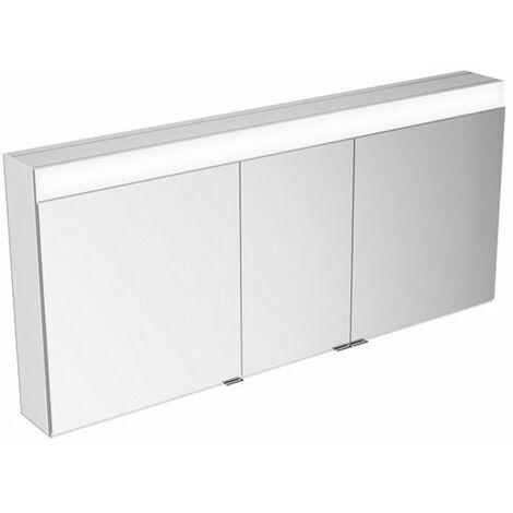 Armario con espejos Keuco Edition 400 21553 con calefacción de espejos, montado en la pared, 1410x650x154mm - 21553171301