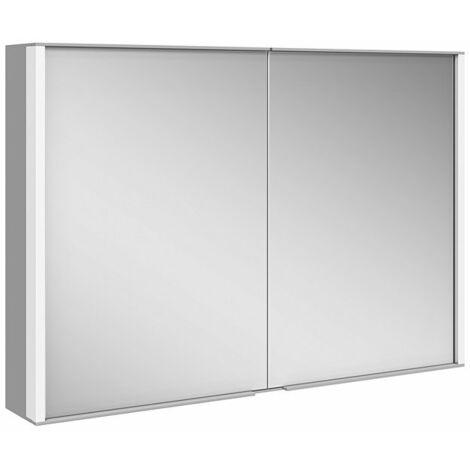 Armario con espejos Keuco Royal Match 12803, 2 puertas giratorias con doble espejo, 1000mm - 12803171301