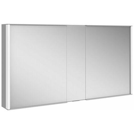 Armario con espejos Keuco Royal Match 12805, 2 puertas giratorias con doble espejo, 1300 mm - 12805171301
