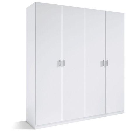 Armario cuatro Puertas color blanco ref-56