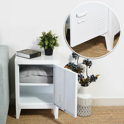Armario de almacenamiento de armario de archivo de metal de acero de metal armario manija estante manija pintura en polvo recubrimiento blanco