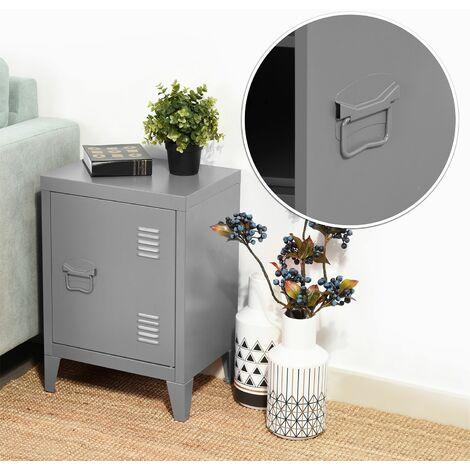 Armario de almacenamiento de armario de archivo de metal de acero de metal armario manija estante manija pintura en polvo recubrimiento gris