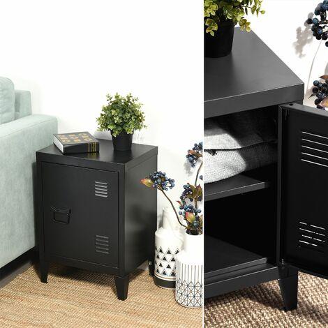 Armario de almacenamiento de armario de archivo de metal de acero de metal armario manija estante manija pintura en polvo recubrimiento negro