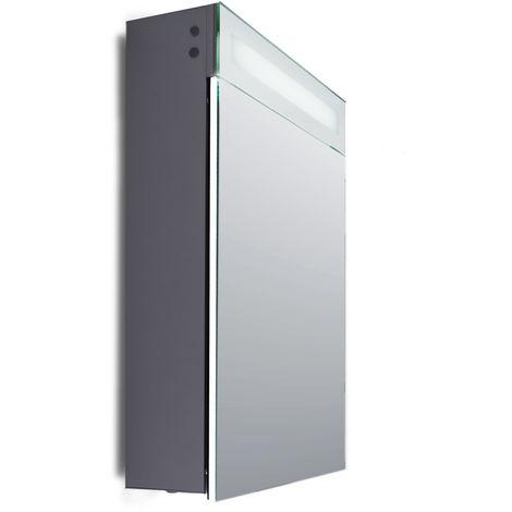 Armario de Baño Iluminación LED Detector Proximidad, Antivaho, Enchufe Afeitadora. Aluminio. Valentina [GML-CE005] (GML-CE005)