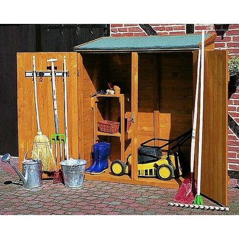 Armario de jardin - cobertizo de madera MILANO