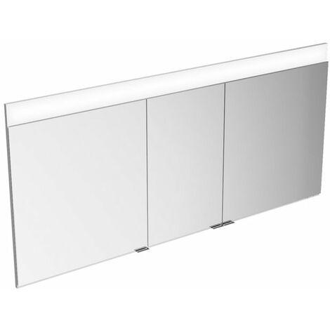 Armario espejo Keuco Edition 400 21513, montaje en pared, 1 color de luz, 1410x650x154mm - 21513171301