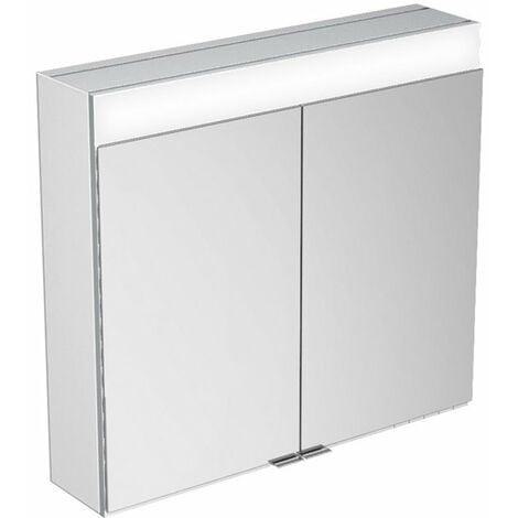 Armario espejo Keuco Edition 400 21521, montaje en pared, 710x650x167 mm - 21521171301