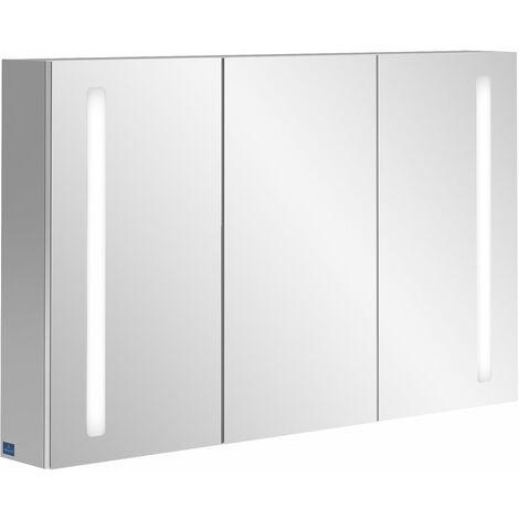 Armario espejo Villeroy & Boch My View 14 A42312, 1200 x 750 x 173 mm, con iluminación LED vertical - A4231200