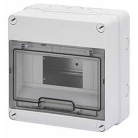 Armario estanco para 8 módulos, libre de halógenos GW40003 de Gewiss