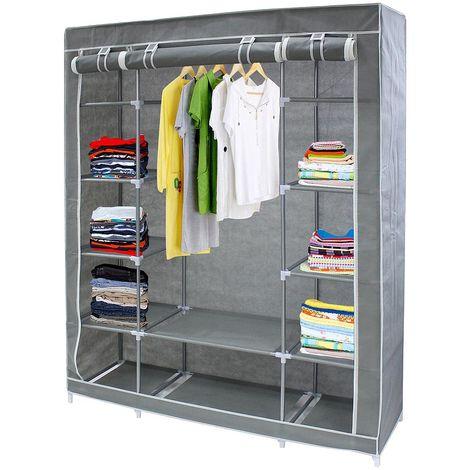 Vestidor o armario de tela