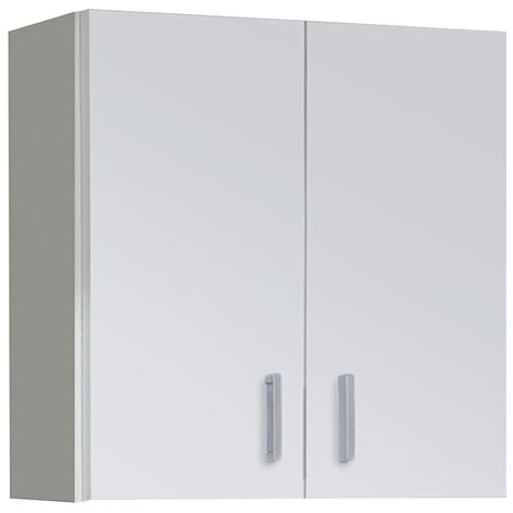 Armario multiusos Blanco para colgar Blanco 60 x 59 x 26,5 cm de fondo