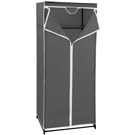 Armario plegable tela tnt 70x45x160 cm.
