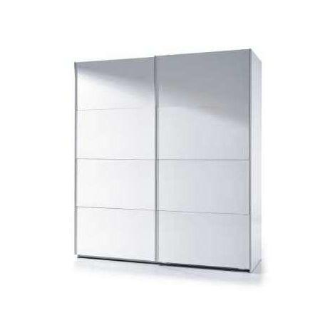 Armario ropero puertas correderas blanco 180 cm de ancho Color Blanco